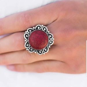 5 for $30 ~~ Paparazzi HAPPY VALLEY ring